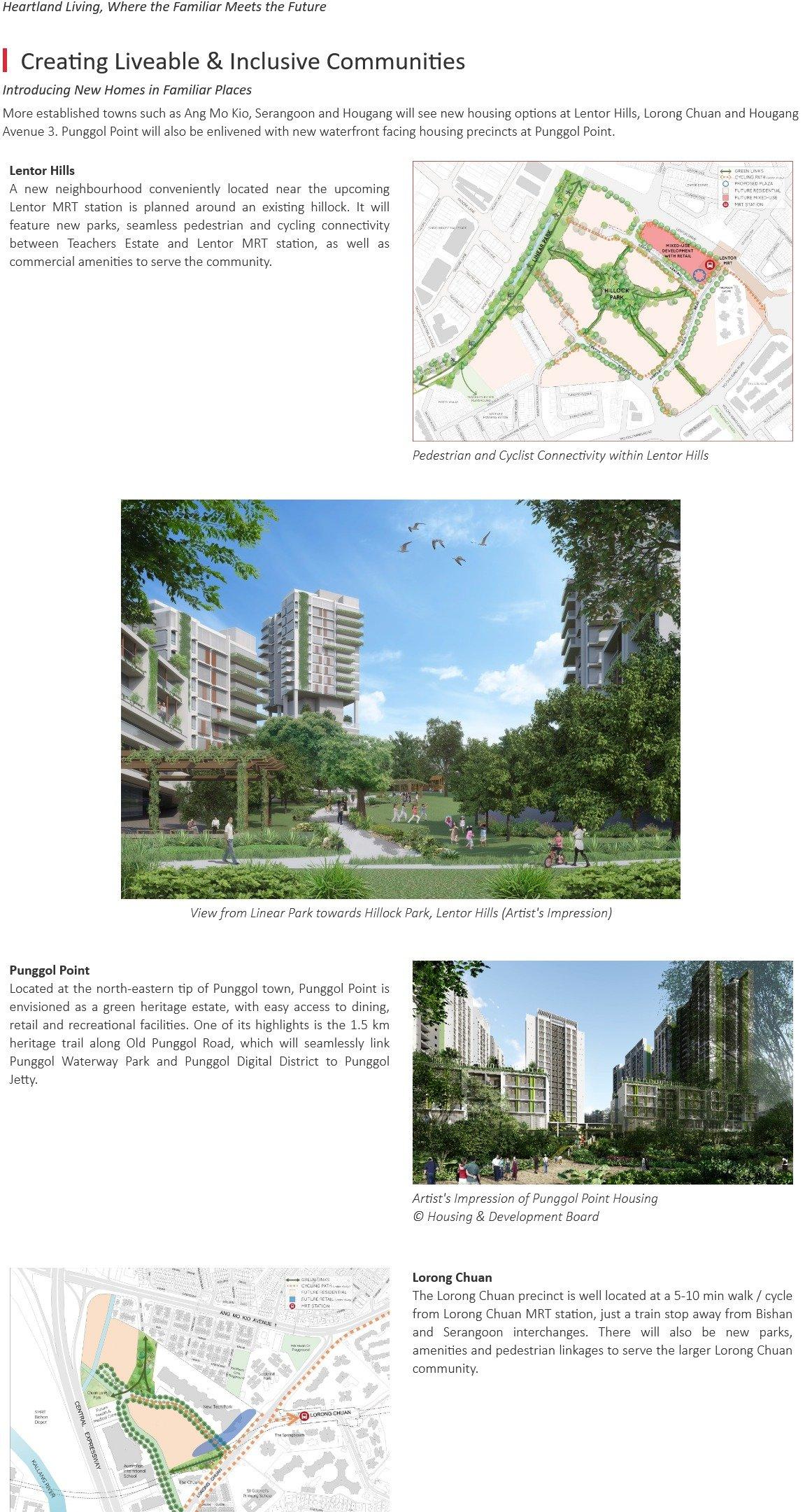 URA Master Plan - North-East Region, where the familiar meets the future 7