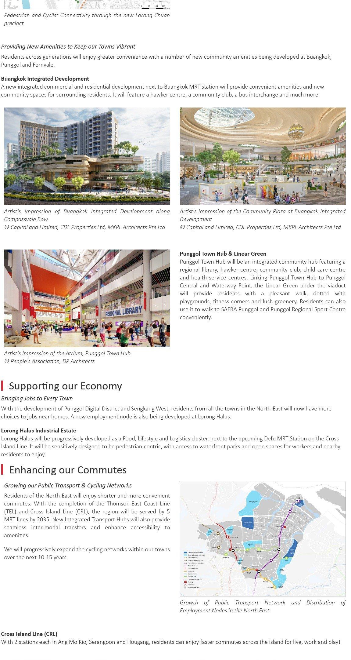 URA Master Plan - North-East Region, where the familiar meets the future 8
